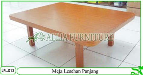 Meja Lipat Pendek meja lesehan klender model panjang allia furniture