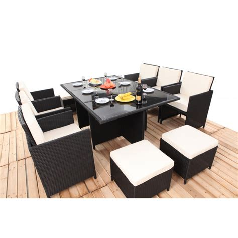 10 seater outdoor dining table havanna 11 10 seater outdoor dining set bare