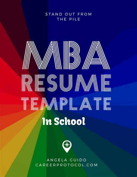 How Does Mba Come In Career by Mba Resume Protocol Career Protocol