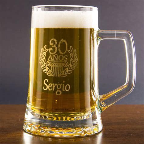 imagenes de cumpleaños cerveza jarra de cerveza grabada para cumplea 241 os