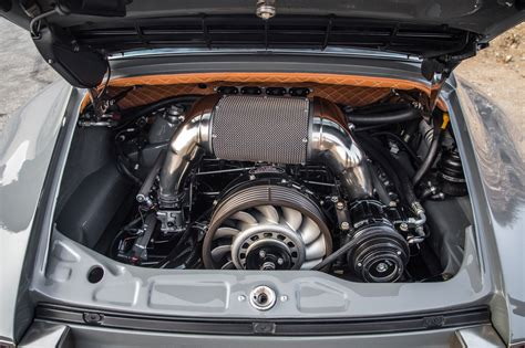 porsche singer engine driving the 1990 porsche 911 reimagined by singer vehicle