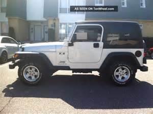 2004 jeep wrangler x sport utility 2 door 4 0l hardtop