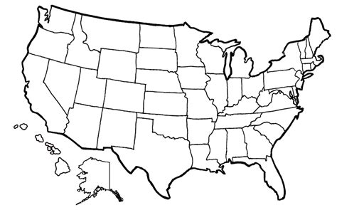 usa map coloring page blank united states map 1850 sketch coloring page