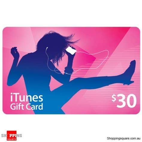 Discount Itunes Gift Cards - apple itunes gift cards 30 online shopping shopping square com au online bargain