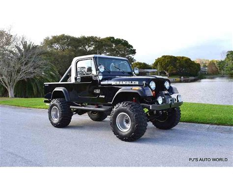 jeep cj8 1984 jeep cj8 scrambler for sale classiccars com cc 963772