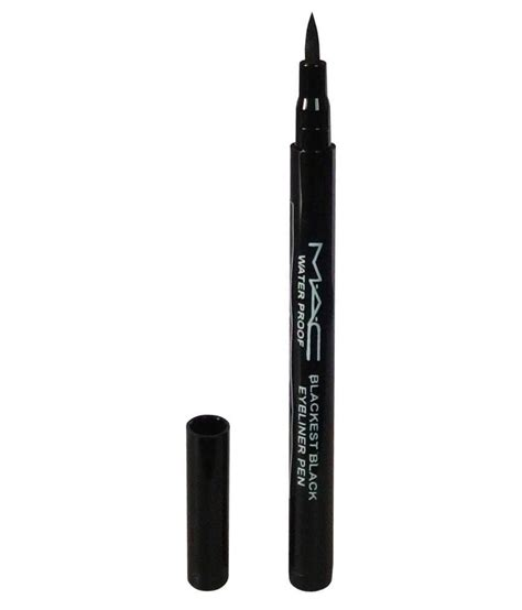 Mac Eyeliner Pencil mac pencil eyeliner black 1 45 gm buy mac pencil eyeliner