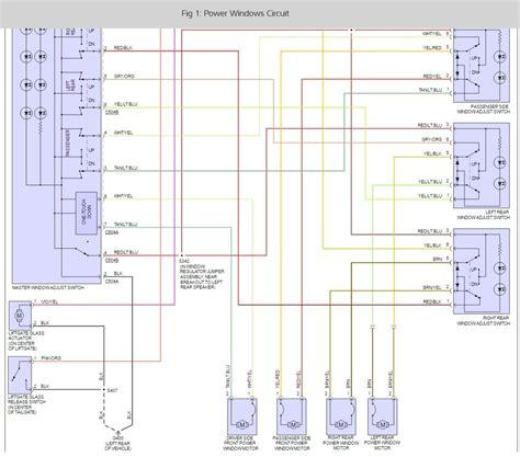 2003 ford explorer power window wiring diagram 46 wiring