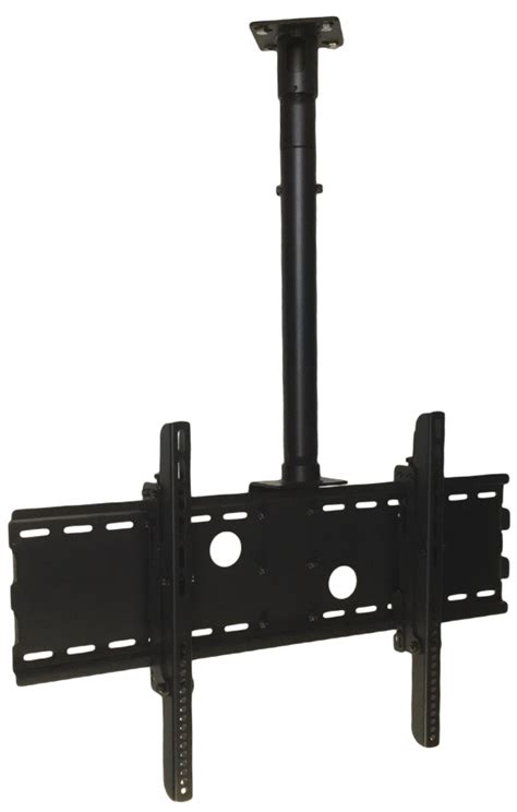 Ceiling Mount For 32 Inch Tv by Low Profile Tv Ceiling Mount For 32 To 70 Wtih Adjustable Mast