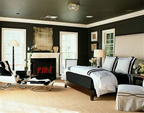 Bold Bedroom Color Ideas With Black And White Accents Black And White With Color Accents