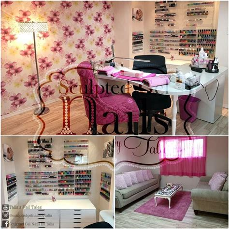 Nagelstudio Set by Home Nail Salon Decorating And Set Up Ideas Nail