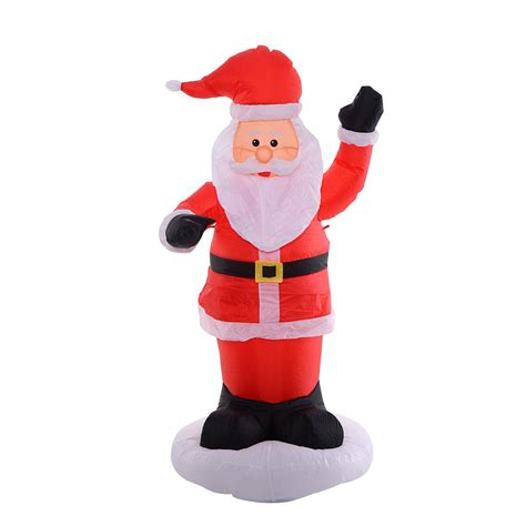 6ft airblown inflatable christmas xmas santa claus outdoor