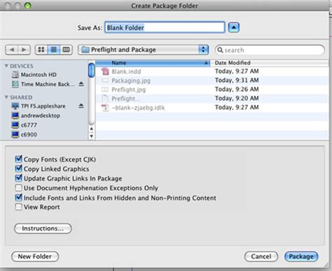 indesign creating an index packaging with indesign