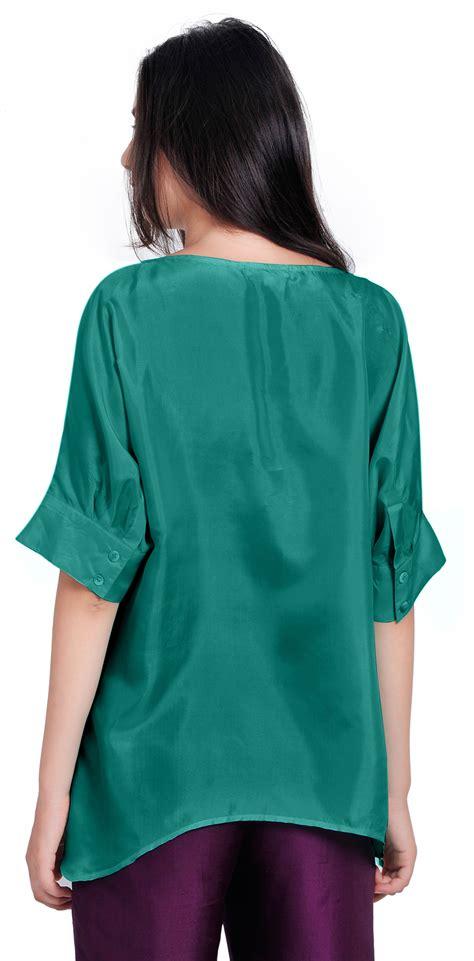 3 4 Sleeve Blouse Lois tunic blouse collar blouses