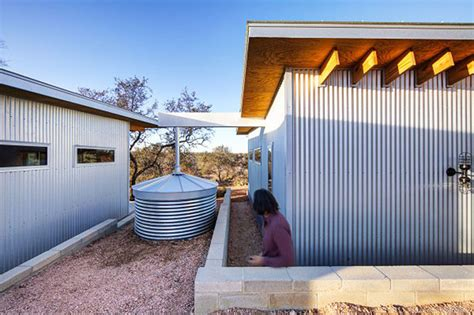 houses with metal siding best friends build a village of tiny houses in the middle of nowhere