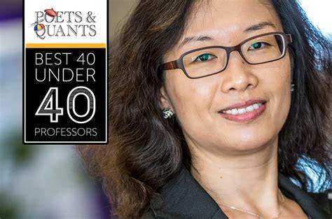 Gt Mba Class Profile by Dr Ting Li Rsm Poetsandquants 40under40 Professors