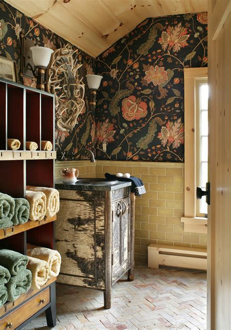 rustic bathroom wall decor 22 floral bathroom designs decorating ideas design