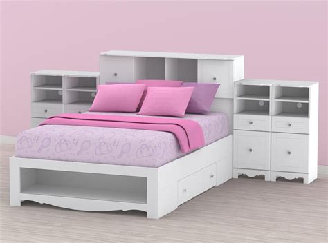 white size bed style derektime design simple
