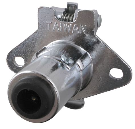 pollak 5 pole pin trailer wiring socket concealed