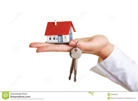 Industrial House Plans by House And Keys On Palm Of Hand Royalty Free Stock Images