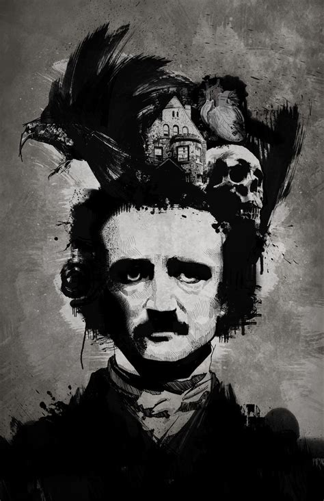 a by edgar allan poe quoth the nevermore tales from the side