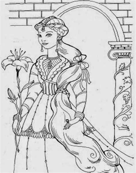 mewarnai gambar kartun princess page 8 kumpulan gambar mewarnai kartun lucu gambar mewarnai lucu