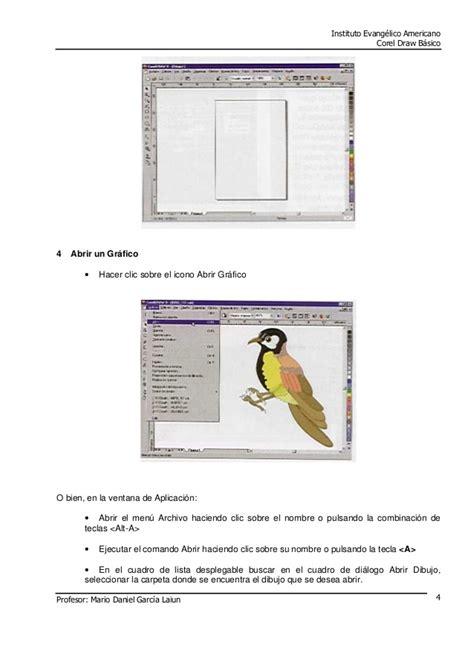 tutorial corel draw basico manual basico de coreldraw