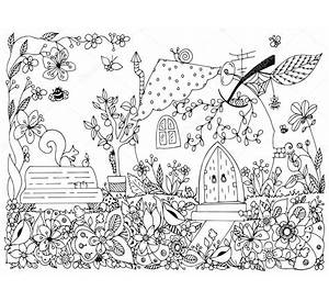 adam and eve in the garden of eden coloring page free - Garden Of Eden Coloring Page