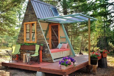 Cost To Build A Small Cabin by Tiny A Frame Cabin Costs Just 700 To Build Curbed