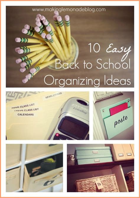 organization tips for school 10 quick tips for back to school organization making