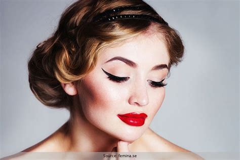 Vintage Look by Retro Eye Makeup Use Liquid Eyeliner To Master The