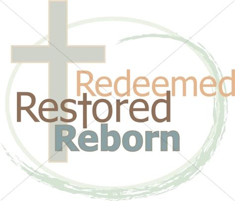 House Of Redeemed by Cross With Redeemed Restored Reborn Cross Word