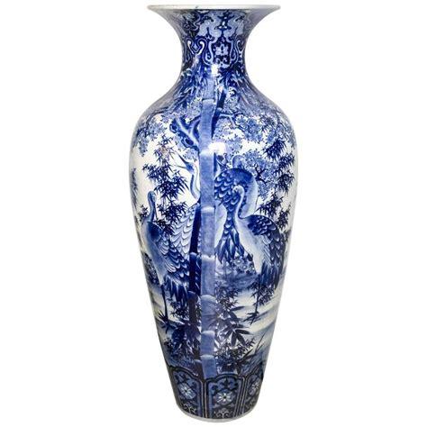 blue and white floor l japanese blue and white porcelain floor vase for sale at