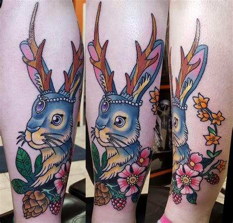jackalope tattoo instagram 1000 images about tattoos on pinterest space cat neo