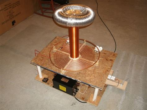 Build A Tesla Coil At Home Diy Gadgets To Build A Tesla Coil