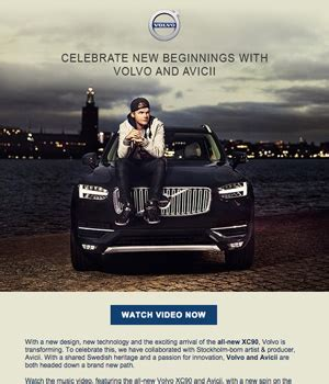 volvo email volvo newsletter email gallery