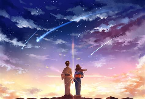 cool wallpaper with your name download 2952x2031 your name kimi no na wa mitsuha