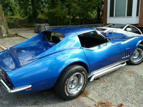 pearl stingray for sale 69 corvette stingray pearl blue 4 speed for sale