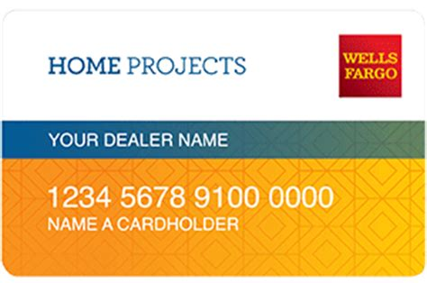 enroll fargo home projects credit card program