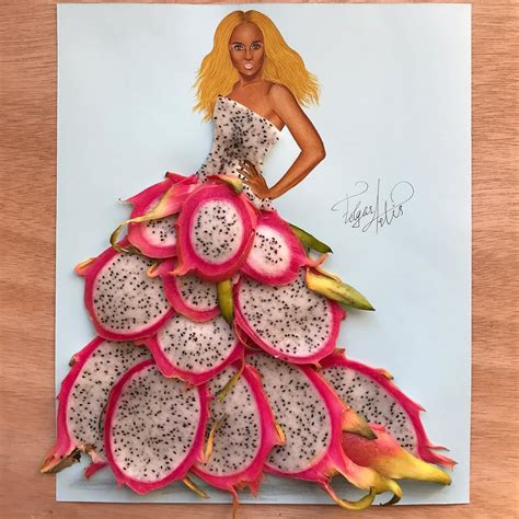 fashion illustration with food artistic fashion illustrations made with food by edgar