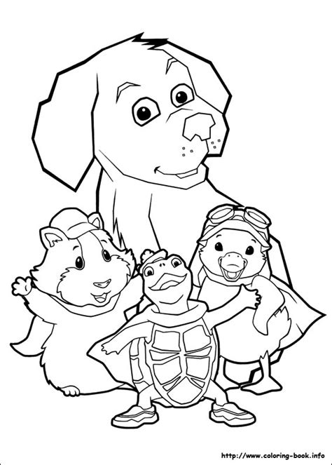 coloring pages wonder pets wonder pets coloring picture they say it s your birthday