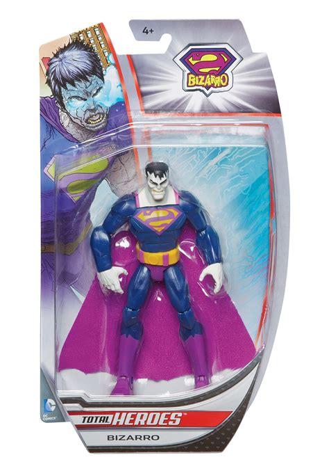 Mainan Superman Bizarro 1 Figure total heroes bizarro figure
