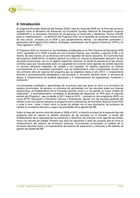 Multiracial Society Essay by Ecuador Programa Prurianual 2011 2013 Ecuador