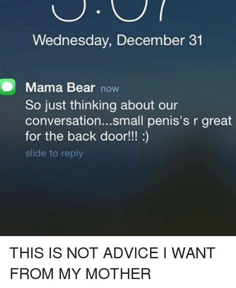Small Penis Memes - 25 best memes about mama mama memes