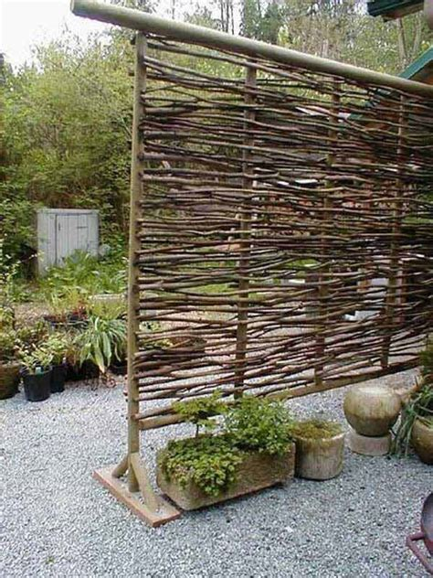 screening ideas for backyards 20 ไอเด ย ร วก นในสวนแบบประหย ด