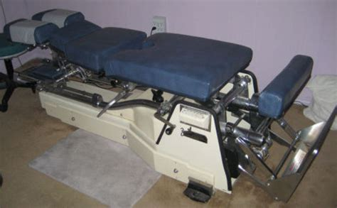 Chiropractic Table For Sale by Used Zenith 240 Hylo Chiropractic Table For Sale Dotmed