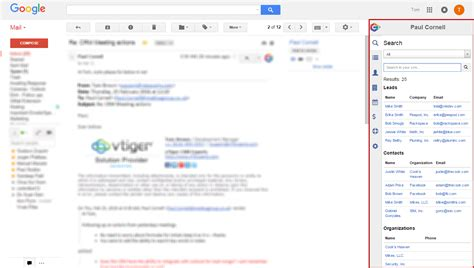 Search Records For Vtiger Record Search In Your Gmail Outlook Office 365