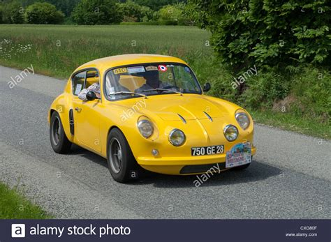 Renault Alpine A106 Of 1958 In The Tour De Bretagne