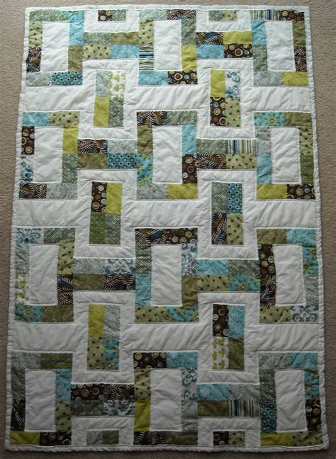 Jelly Rolls Quilt by Crafter Without A Cat Jelly Roll Quilt