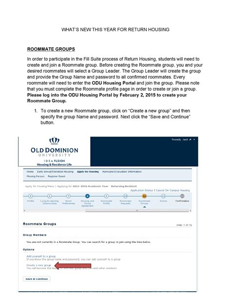 odu housing portal what s new in starrez by odu housing issuu