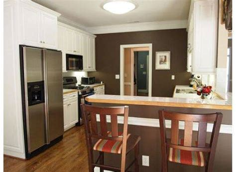 white or brown kitchen cabinets kitchen white cabinets brown walls the interior design